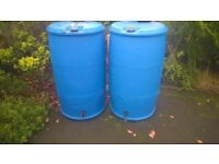 Two Large Water Butts