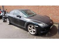 Mazda Rx8 231 with private plate