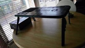 Folding Laptop Table (Immaculate Condition)