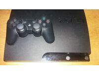 ps3 slim 160gb with 6 games
