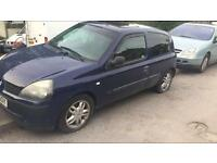 RENAULT CLIO MKII BREAKING ALL PARTS AVAILABLE 2000-2006 DARK BLUE 1.2 PETROL ALLOY WHEELS