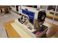 Jones Late 80's Sewing Machine With Case