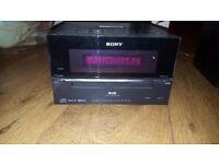 Sony Hifi and Speaker Full System £50 ONLY - CD FM Radio DAB iPod Dock - HCD-BX77DBi RRP £150