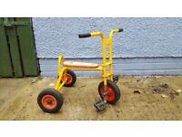 Vintage childrens tricycle
