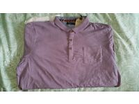 BRAND NEW WITH TAGS MENS POLO SHIRT SHORT SLEEVE MED&LARGE