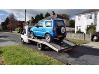car recovery 24/7 Nationwide uk and any europe union countries to any where you want