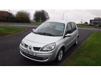 AUTOMATIC, RENAULT SCENIC 1.6 DYNAMIQUE VVT,2008,Alloys,Air Con,Service History,Very Clean Condition