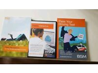 BSM Official Theory Test Books and DVD