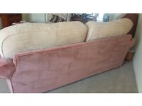 3 seater plus 2 seater sofa and large armchair