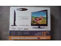 Inovtech caravan/motorhome 18.5 inch LCD HD TV with DVD player, caravan motorhome accessories/parts