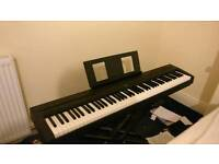 Yamaha P-45 Digital Piano (With X-Stand, Book holder , pedal and power adapter)
