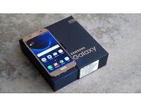 SAMSUNG S7 GOLD/ VISIT MY SHOP. /UNLOCKED / 32 GB/ GRADE A / WARRANTY + RECEIPT