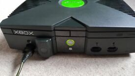 Microsoft 8GB Xbox (Original) Black PAL Console for sale