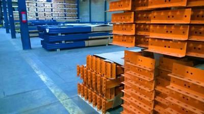 Pallet Rack (Palett Racks Pallet Rack  29 Frames/Pillars, 112 Beams,  3 m Height, 1,1 m Depth)