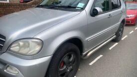 image for Mercedes-Benz, M CLASS, Semi-Auto, 3724 (cc)2004 LPG GAS CONVERSION CHEAP TO RUN Swap or sale