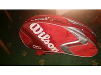 Wilson K Factor Pro Tour + Racquet Kit for Sale
