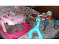 good toys hardly used baby bouncers
