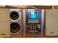 Panasonic SA-PM25 compact stereo system