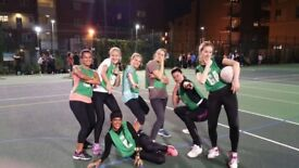 Clapham South Players for Social Netball League