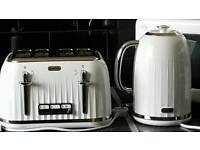 Kettle set white gloss