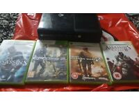 XBOX 360 FOR SALE WITH GAMES (FREE GAMES)