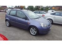 FORD FIESTA AUTOMATIC TOP CONDITION ONLY 44K MILEAGE 12 MONTHS MOT NATIOWIDE WARRANTY IS AVAILABLE