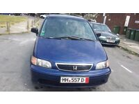 HONDA SHUTTLE LHD GERMANY REGISTRATION AUTOMATIC GEAR LEFT HAND DRIVE blue colour