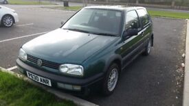 VW GOLF MK3 1.8SE PETROL 3 DOOR RETRO CLASSIC MOT