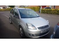 2007 Ford Fiesta 1.25 Zetec Genuine 53k PSH Mot Jan18 5 Door Silver