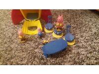 peppa pig rocket toy