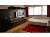 Modern furnished large Kingsize bedroom to let . 2 Available. Walking distance Bethnal Green Station