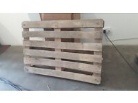 3x Wooden Pallets. Good condition