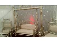 Asian wedding stage /Jhola for hire