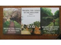 Three Books 'Walking The Canals of the Midlands'