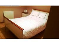 Double Bed, Chest of Drawers & Bedside Table