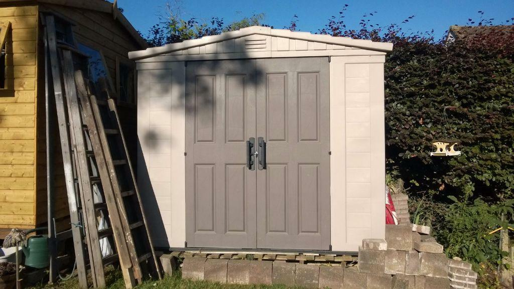 argos 6 x 10 shed by sorry now sold plastic garden shed 6ft x 8ft learning