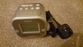Radio alarm clock SONY