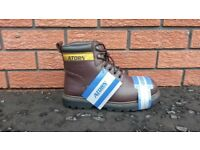 Atorn Men's Work boots- Brown