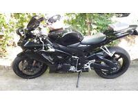 Black Suzuki GSXR 750cc motorbike £2750