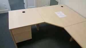 3 quality constructed office desks