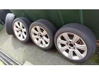 Two sets of wheels for sale