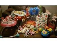 Baby girls toys/walker - huge bundle!