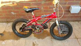 Kid bike 14 inch wheel