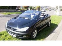 VERY CLEAN AND TIDY PEUGEOT 206 CC LONG MOT / SERVICE HISTORY !!!!