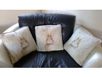 Next Rabbit Cushions x 3