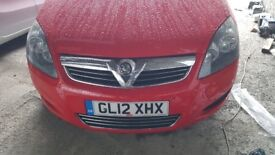 Vauxhall ZAFIRA, 2012 year, low mileage, for SALE