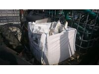 Lime Mortar - tonne bag from listed building renovation