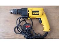 GREAT CONDITION TOP QUALITY DEWALT DW205 2 FUNCTION 230 VOLT DRILL