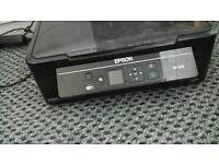Epson printer .digitial keyring .purple lamp