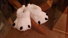 M&S baby slippers